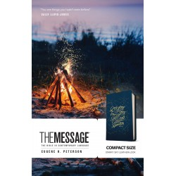 Message Compact Bible-Navy...