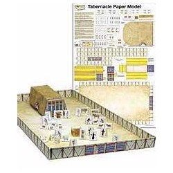 Tabernacle Paper Model...