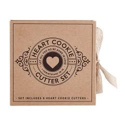 """Heart Cookie Cutter Set (6""""..."""