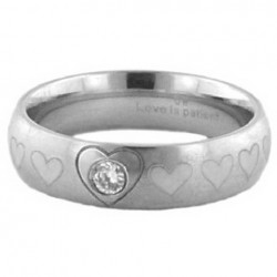 Ring-Purity/Heart w/Stone...