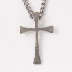 Necklace-Cross-Flared End...