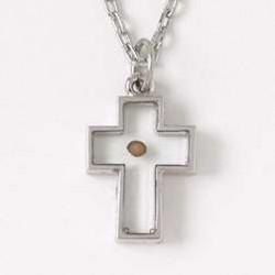 Necklace-Cross-Mustard Seed...