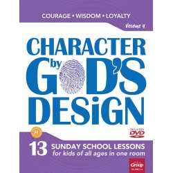 Character By God's Design:...