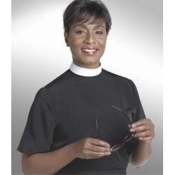 Clerical Shirt-Women-Short...