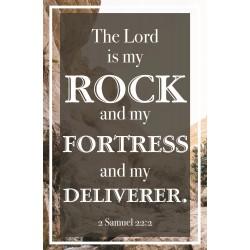 Bulletin-Lord Is My Rock...