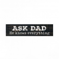 """Little Sign-Ask Dad (6"""" x..."""