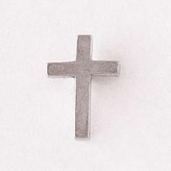 Lapel Pin-Plain Cross-Pewter