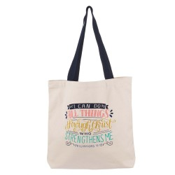 Totebag-Canvas-I Can Do All...