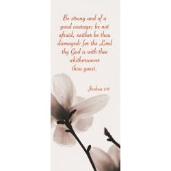 Bookmark-Be Strong (Pack Of...