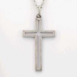 Necklace-Cross Cut-Out...