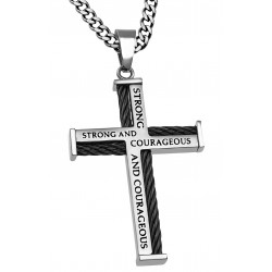 Necklace-Cable Cross-Strong...
