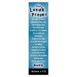 Bookmark-The Lords Prayer...