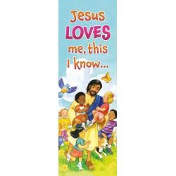 Bookmark-Jesus Love Me This...