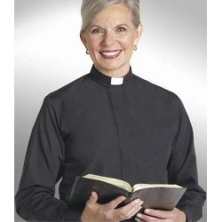 Clerical Shirt-Women-Long...