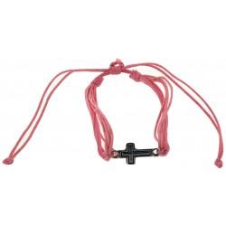 Bracelet-Light Pink Cotton...