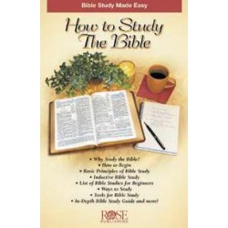 How To Study The Bible...