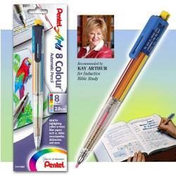 Highlighter-Pentel 8 Color...