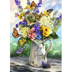 Frameless Canvas-Butterfly...