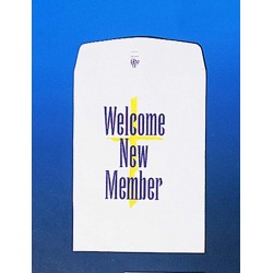 Envelope-Welcome New Member...