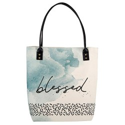 Tote Bag-Canvas-Blessed...