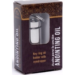 Anointing Oil Holder-Silver...