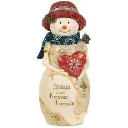 Figurine-Snowman-Sister (5')