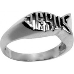 Ring-Ichthus/Jesus-Style...