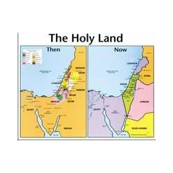 Chart-Holy Land: Then & Now...