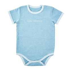 Baby-Snapshirt-Cream/Blue-L...