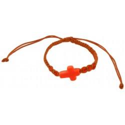 Bracelet-Orange Cotton...