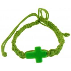 Bracelet-Green Cotton...