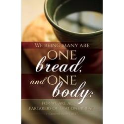 Bulletin-One Bread One Body...