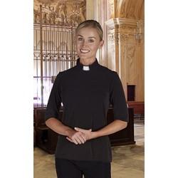 Clergy Shirt-Womens Knit...