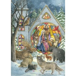 Advent Greeting Card...