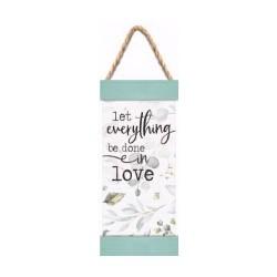 Jute Hanging Banner-Let...