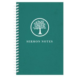 Sermon Notes Journal-Olive...