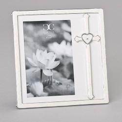 Frame-Cross w/Heart (Holds...