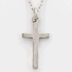 Necklace-Cross Small Plain...