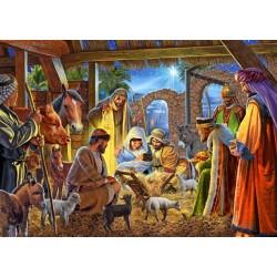 Card-Boxed-Joyous Nativity...