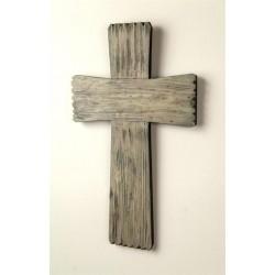 "Wall Cross-Rugged Wood (10""..."