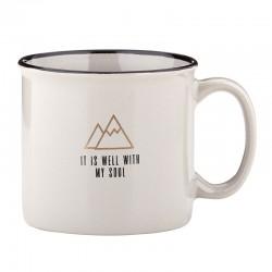 Mug-Campfire-It Is Well...