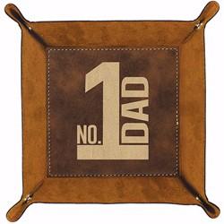 "Catchall Tray-Dad (6.5"" Sq)"