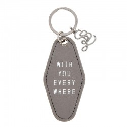 Key Tag-Motel Style-With...
