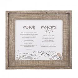Framed Art-Pastor & Wife...