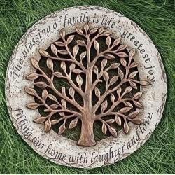 "Garden Stone-Tree (12""D)"