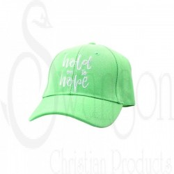 Cap-Hold On To Hope-Sea Green