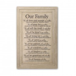 Wall Plaque-Our...