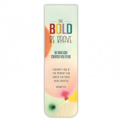 Magnetic Bookmark-Be Bold...