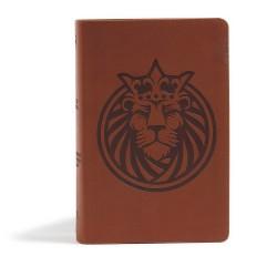 CSB Kids Bible-Brown Lion...