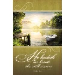 Bulletin-He Leadeth Me...